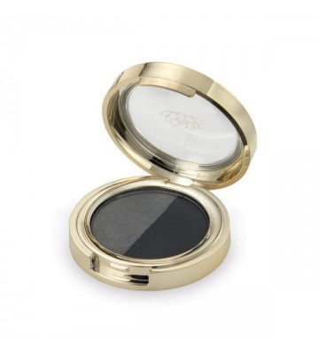 Duo Eyeshadow Silver Carbon - 1