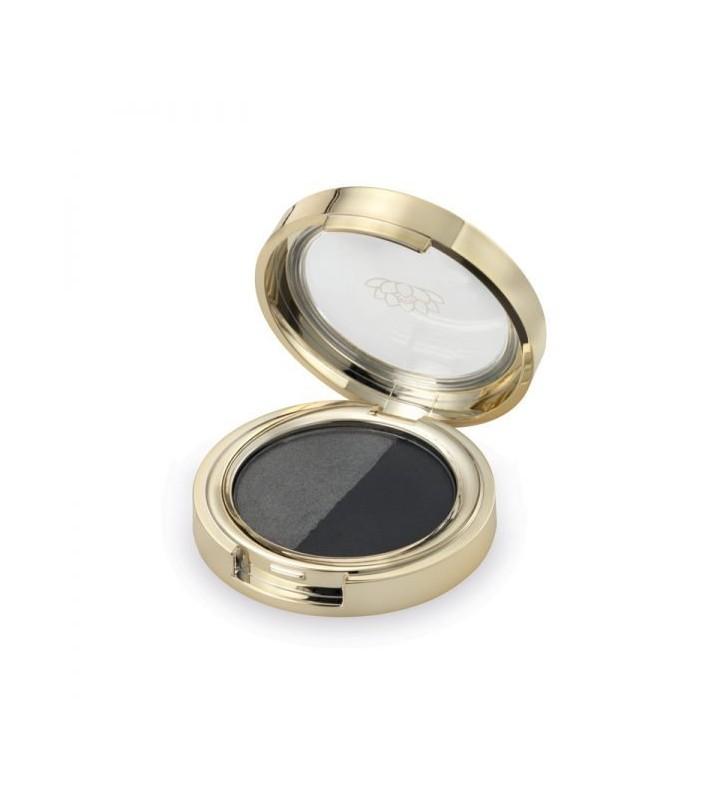 Duo Eyeshadow Silver Carbon - 1